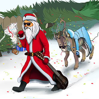 Песня Деда Мороза (Remix)
